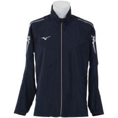 (セール)MIZUNO(ミズノ)メンズスポーツウェア ウインドアップジャケット NC MCL ウインドBシャツ 32JE801714 メンズ ネイビーxシルバー