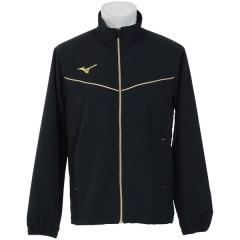 (セール)MIZUNO(ミズノ)メンズスポーツウェア ウインドアップジャケット TSA クロスシャツ 32JC814809 メンズ ブラックxゴールド