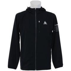 (セール)le coq sportif(ルコックスポルティフ) メンズスポーツウェア ウインドアップジャケット ウインドジャケット QMMLJC21MG BLK メンズ BLK