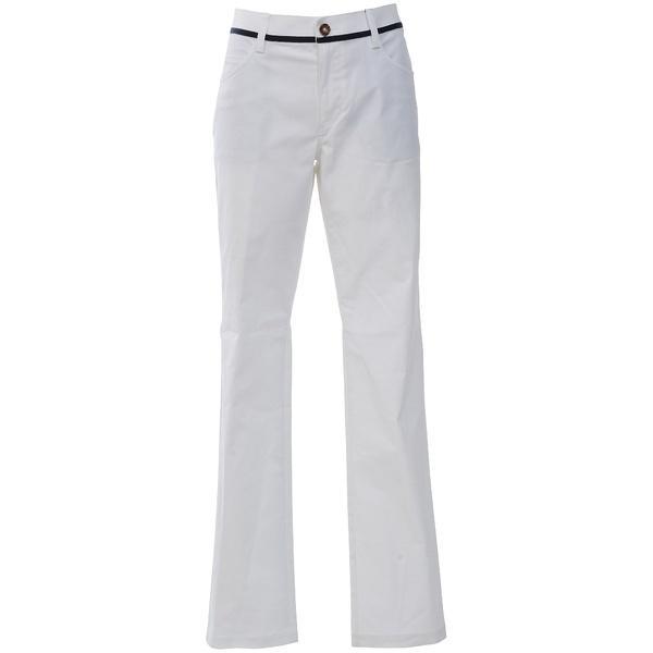 (セール)adidas(アディダス)ゴルフ レディース ウェア JP ADICROSS シャンブレーストレッチ ストレートパンツ CCO88-M73839 レディース ホワイト