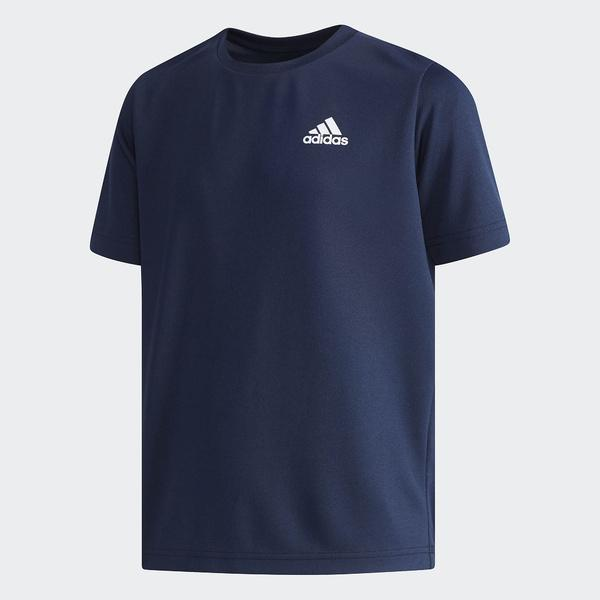 (セール)adidas(アディダス)ジュニアスポーツウェア Tシャツ カレッジネイビー EWQ16 CX3799 ボーイズ カレッジネイビー