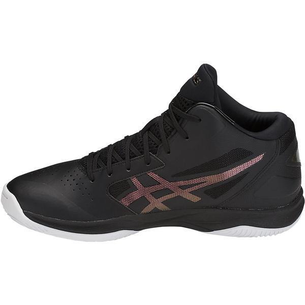 (セール)(送料無料)ASICS(アシックス)バスケットボール シューズ GELHOOP V 10 TBF339.9026 ブラックxプリズムファイアレッド