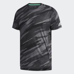 (セール)adidas(アディダス)ラケットスポーツ Tシャツ MEN ML AOP T-SHIRTS DRS20 CG2525 メンズ ブラック