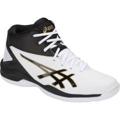 (セール)ASICS(アシックス)バスケットボール ジュニア シューズ GELPRIMESHOT SP 4 TBF140.0116 ジュニア ホワイト/フアントム