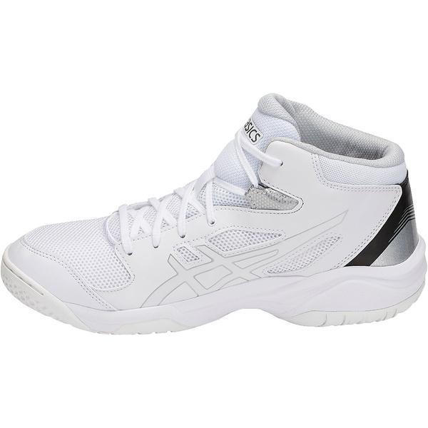 (送料無料)ASICS(アシックス)バスケットボール ジュニア シューズ DUNKSHOT MB 8 TBF139.0101 ジュニア ホワイト/ホワイト