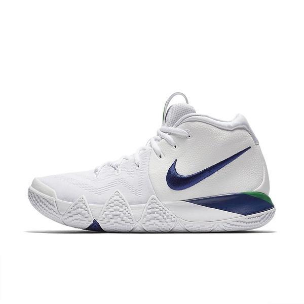 (セール)(送料無料)NIKE(ナイキ)バスケットボール シューズ ナイキ カイリー 4 EP 943807-103 メンズ ホワイト/ディープロイヤルブルー