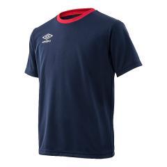 (セール)UMBRO(アンブロ)ジュニアスポーツウェア Tシャツ JR ワードロゴS/Sシャツ UMJLJA65 NVY ボーイズ NVY
