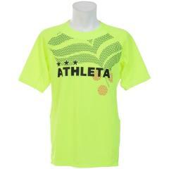 (セール)ATHLETA(アスレタ) サッカー 半袖プラクティスシャツ カラープラクティスシャツ 02295 メンズ YEL