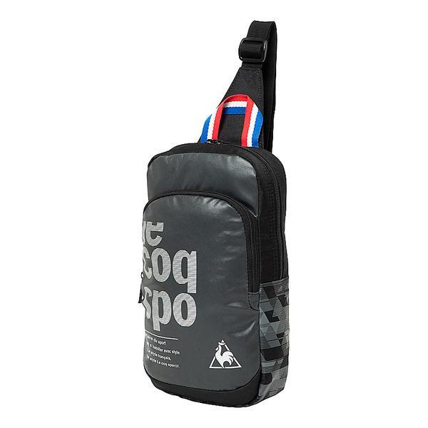 le coq(ルコック)スポーツアクセサリー ボディーバッグ ボディバック QMBLJA04 BLK メンズ F BLK
