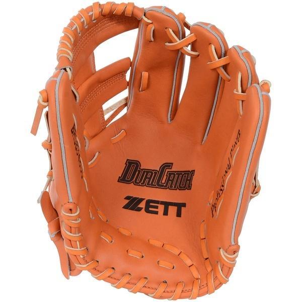 (送料無料)ZETT(ゼット)野球 長袖アンダーシャツ ナンシキグラブ BRGB34830-5600 LH オレンジ