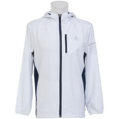 (セール)le coq sportif(ルコックスポルティフ) メンズスポーツウェア ウインドアップジャケット ウインドジャケット QMMLJC21MG WHT メンズ WHT