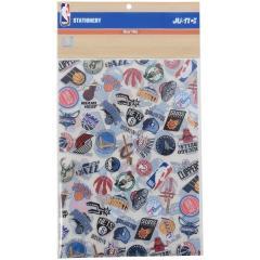 <LOHACO> adidas(アディダス)バスケットボール NBA クリアファイル(2枚セット)ALLOVER NBA32220 CLR画像