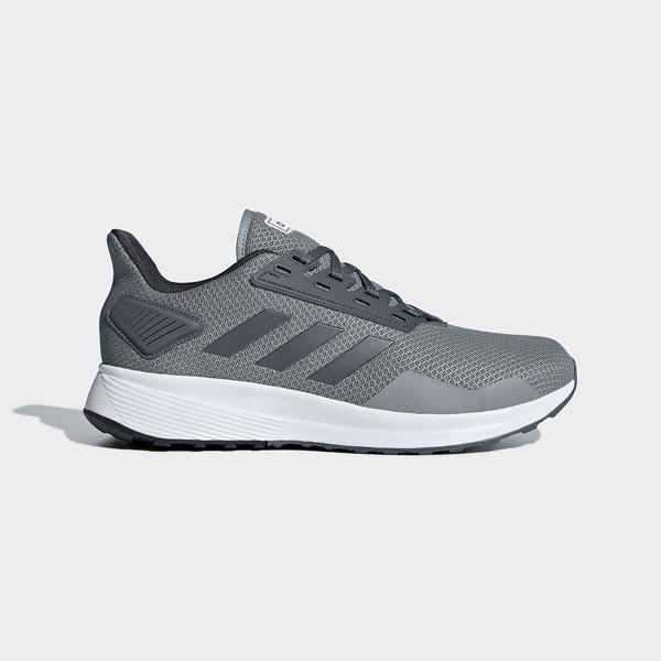 (セール)adidas(アディダス)ランニング メンズジョギングシューズ DURAMO 9 WIDE M BTF24 BB7954 メンズ グレー/オニキス/ランニングホワイト