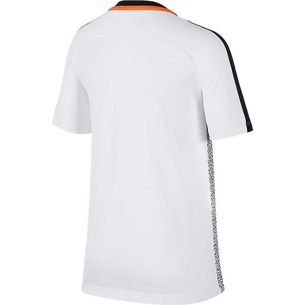 NIKE(ナイキ)サッカー ジュニア半袖プラクティスシャツ ナイキ YTH ACADEMY S/S トップ GX2 AJ4230-100 ボーイズ ホワイト/ブラック/(トータルオレンジ)