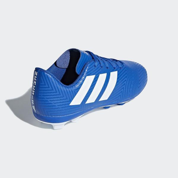 (セール)adidas(アディダス)サッカー ジュニアスパイク ネメシス 18.4 AI1 J FBX52 DB2357 フットボールブルー/ランニングホワイト/フットボールブルー