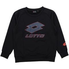 (セール)LOTTO(ロット)ジュニアスポーツウェア スウェット LOTTOジュニアスウェットクルーネック LO-F18-012-005 ボーイズ ブラック