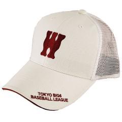 <LOHACO> MIZUNO(ミズノ)野球 プロ野球 ロクダイメッシュキャップ17W 12JRBW0202 メンズ F ワセダ画像