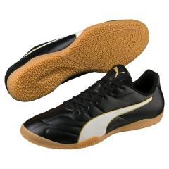 (セール)PUMA(プーマ)サッカー フットサル インドア プーマ クラシコ C II サラ 10480101 メンズ プーマ ブラック/プーマ ホワイト/ゴールド