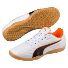 (セール)PUMA(プーマ)サッカー ジュニアスパイク プーマ クラシコ C II サラ JR 10499102 ボーイズ プーマ ホワイト/プーマ ブラック/ショッキング オレンジ