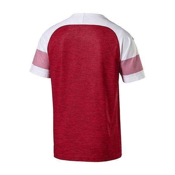 (送料無料)PUMA(プーマ)サッカー 海外クラブ ナショナルチーム ARSENAL SS ホーム レプリカシャツ 75320912 メンズ チリ ペッパー ヘザー/ホワイト/チリ ペッパー