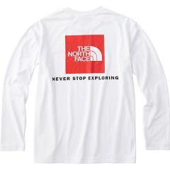 (送料無料)THE NORTH FACE(ノースフェイス)トレッキング アウトドア 長袖Tシャツ L/S SQUARE LOGO T NT81842 W メンズ W