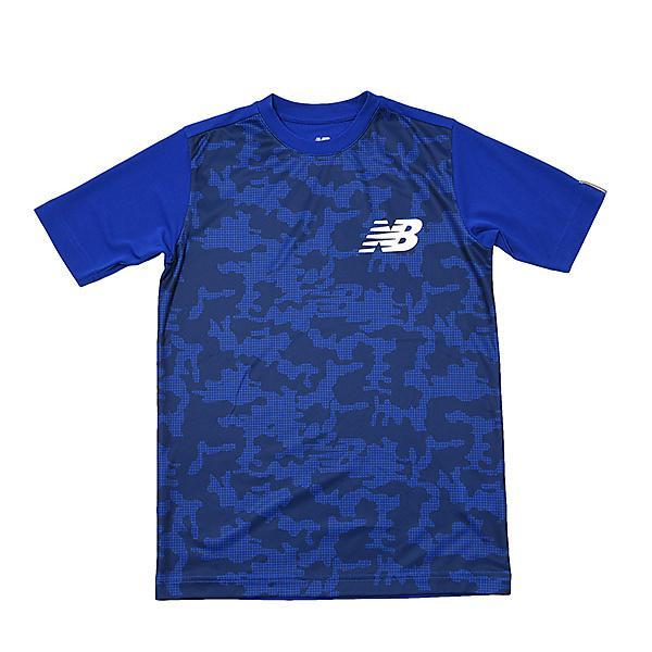 419f103b9b7aa New Balance(ニューバランス)ジュニアスポーツウェア Tシャツ S/S Tシャツ カモ柄