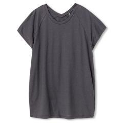 DANSKIN(ダンスキン)ヨガ トップス Tシャツ DY78303 レディース K