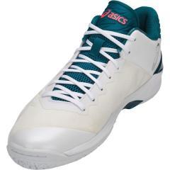 (セール)(送料無料)ASICS(アシックス)バスケットボール シューズ GELBURST 22 Z 1063A001.100 WHITE/WHITE