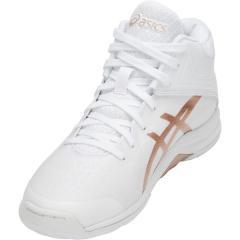 (セール)(送料無料)ASICS(アシックス)バスケットボール レディース シューズ LADY GELFAIRY 8 TBF403.100 レディース WHITE/FROSTED ALMOND