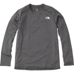 (セール)THE NORTH FACE(ノースフェイス)ランニング メンズ長袖Tシャツ L/S GTD MELANGE CREW NT61889 メンズ ZC