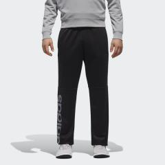 (セール)adidas(アディダス)メンズスポーツウェア ウォームアップパンツ M ESSENTIALS ビッグリニアロゴジャージパンツ FAO91 DN1406 メンズ ブラック/ナイトメット F13