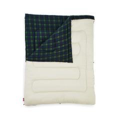 (セール)(送料無料)COLEMAN(コールマン)キャンプ用品 スリーピングバッグ 寝袋 封筒型 フリースアドベンチャー/C0(グリーンチェック) 2000033804