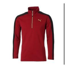 (セール)(送料無料)PUMA(プーマ)ゴルフ 長袖ポロ 長袖ハイネック ゴルフ TB ハーフジップシャツ 923758 メンズ 3