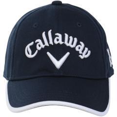Callaway(キャロウェイ)ゴルフ レディース アクセサリー 18L CALLAWAYBASICCAPWMS18JM 247-8984902-120 レディース FR ネイビー