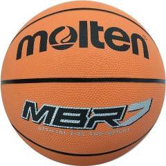 molten(モルテン)バスケットボール 7号ボール ゴムバスケットボール MBR7 メンズ 7号球 オレンジ