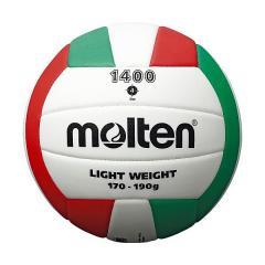 (セール)molten(モルテン)バレーボール 4号ボール EVAバレーボール 4号球 V4C1400-L 4号球 ホワイトxレッドxグリーン