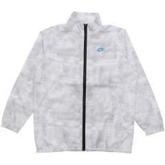 (セール)LOTTO(ロット)ジュニアスポーツウェア ウインドジャケット ジュニアウィンドジャケット LO-S19-012-001 ボーイズ ホワイト