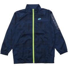 (セール)LOTTO(ロット)ジュニアスポーツウェア ウインドジャケット ジュニアウィンドジャケット LO-S19-012-001 ボーイズ ネイビー