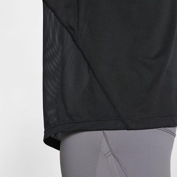 NIKE(ナイキ)ランニング レディース長袖Tシャツ ナイキ ウィメンズ マイラー L/S トップ AJ8129-010 レディース ブラック/(リフレクトシルバー)