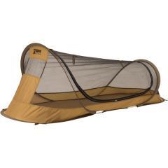 Alpine DESIGN(アルパインデザイン)キャンプ用品 サンシェード ポップアップメッシュシェルター AD-S19-015-067 BRN コヨーテブラウン