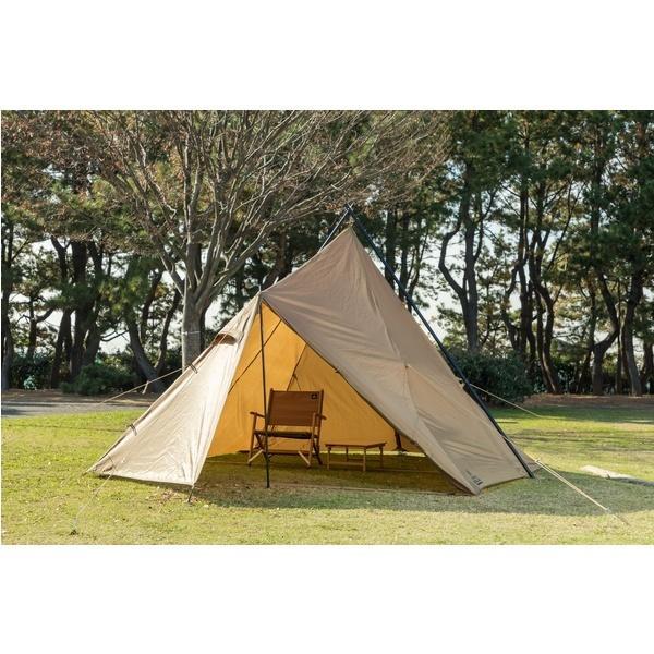 10%OFFクーポン対象商品 (セール)(送料無料)TARAS BOULBA(タラスブルバ)キャンプ用品 ファミリーテント フォークティピィテント TB-S19-015-003 カーキ クーポンコード:KZUZN2T