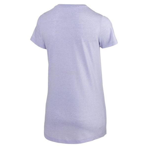 (セール)PUMA(プーマ)レディーススポーツウェア Tシャツ ESS+ NO.1 ロゴ ヘザー SS Tシャ 85386923 レディース スイートラベンダーヘザー