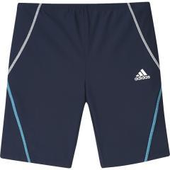 adidas(アディダス)スイミング ボーイズ競泳 スイム フィットネスタイツ 18CM FTL94 DV0892 ボーイズ カレッジネイビー/ホワイト