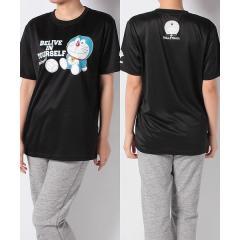 (セール)s.a.gear(エスエーギア)バレーボール 半袖Tシャツ ドラえもんTシャツ2 SA-S19-003-042 ブラック