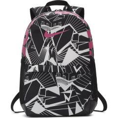 (セール)NIKE(ナイキ)スポーツアクセサリー バッグパック ナイキ YA ブラジリア AOP バックパック BA5755-011 ジュニア MISC ブラック/ブラック/(レーザーフューシャ)
