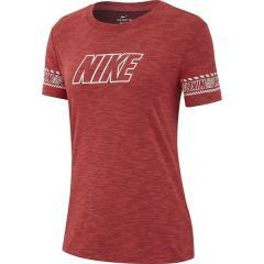(セール)NIKE(ナイキ)レディーススポーツウェア Tシャツ ナイキ ウィメンズ DRI-FIT DFC ブランド スラブ Tシャツ AQ3260-850 レディース エンバーグロウ/ヘザー