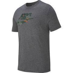 (セール)NIKE(ナイキ)メンズスポーツウェア 半袖シャツ ナイキ カモ S/S Tシャツ 1 AR4996-071 メンズ チャコールヘザー/(ファー)
