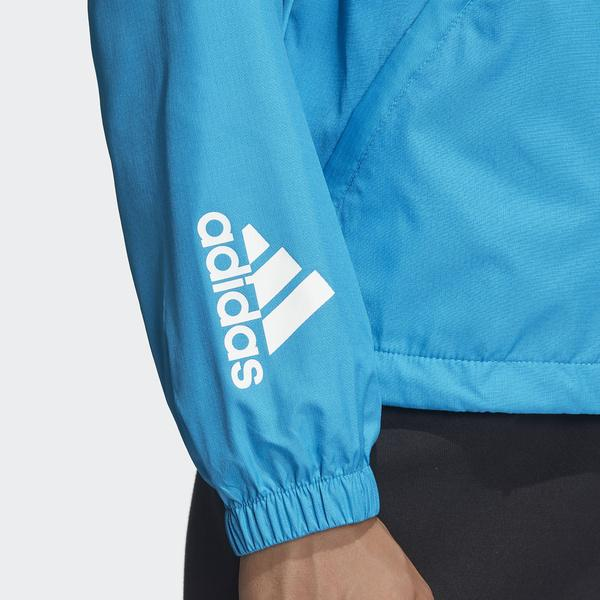 (セール)(送料無料)adidas(アディダス)レディーススポーツウェア ウインドアップジャケット W WND ジャケット FXY05 DZ0039 レディース ショックシアンS19