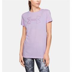 (セール)UNDER ARMOUR(アンダーアーマー)レディーススポーツウェア Tシャツ UA GRAPHIC BL CLASSIC CREW 1330348 543 レディース 543