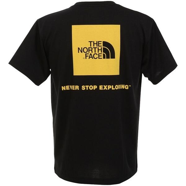 THE NORTH FACE(ノースフェイス)トレッキング アウトドア 半袖Tシャツ S/S Square Logo Tee NT31957 KY メンズ KY